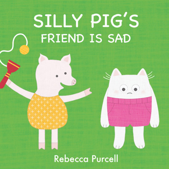 Silly Pig's Friend is Sad