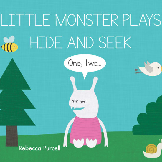 Little Monster Plays Hide and Seek