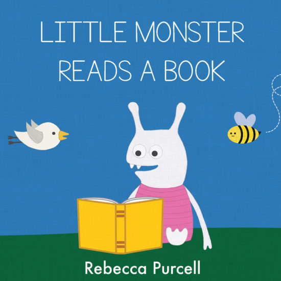 Little Monster Reads a Book
