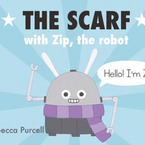The Scarf, with Zip the Robot